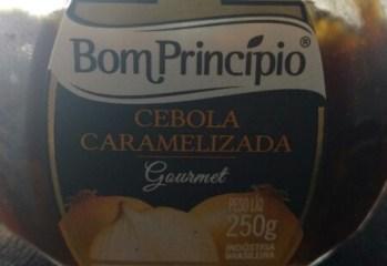 Cebola Caramelizada Gourmet Bom Princípio