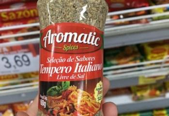 Seleção de Sabores Tempero Italiano Aromatic Spices