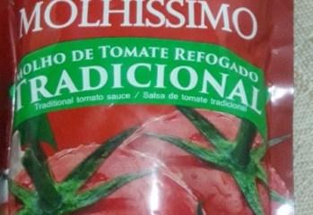 Molho de Tomate Refogado Tradicional Molhíssimo Só Fruta