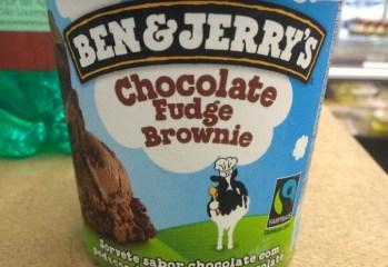 Sorvete Sabor Chocolate Fudge Brownie Ben & Jerry's