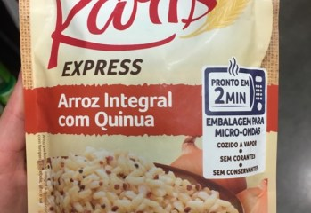Arroz Integral com Quinua Express Ráris