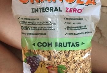 Granola Integral com Frutas Zero Biosoft