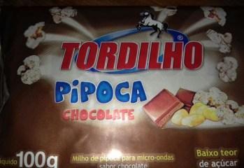 Milho para Pipoca para Micro-ondas Sabor Chocolate Tordilho