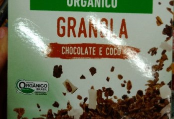 Granola Chocolate e Coco Orgânico Jasmine