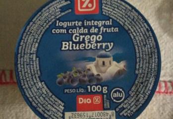 Iogurte Integral com Calda de Fruta Grego Blueberry Dia