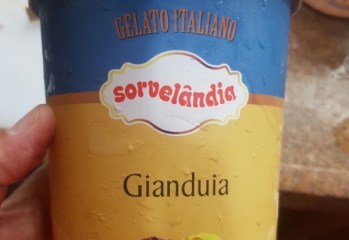Sorvete Gianduia Gelato Italiano Sorvelândia