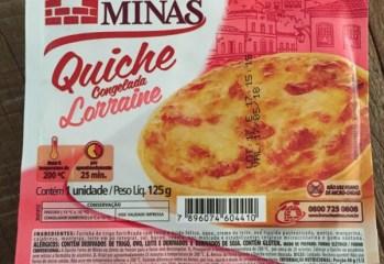 Quiche Congelada Lorraine Forno de Minas
