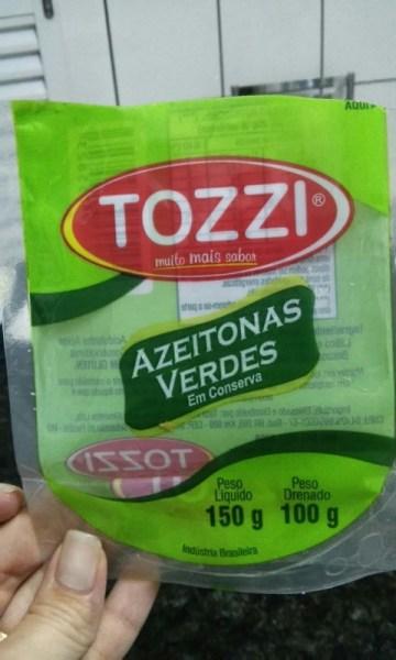 Azeitonas Verdes em Conserva Tozzi