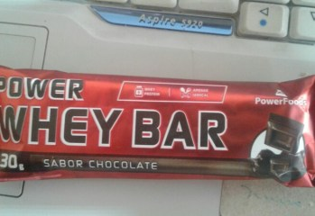 Power Whey Bar Sabor Chocolate Power Foods