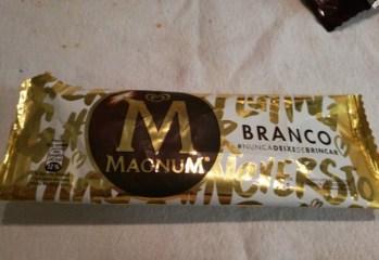 Sorvete Magnum Branco Kibon