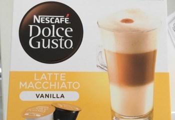 Composto Lácteo com Café Latte Macchiato Vanilla Dolce Gusto Nescafé