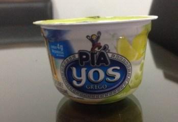 Iogurte Grego Sabor Limão Sciliano Yos Piá