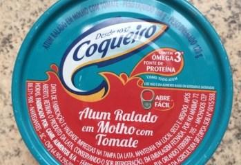 Atum Ralado em Molho com Tomate Coqueiro