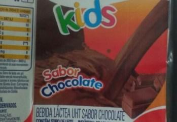 Bebida Láctea UHT Sabor Chocolate Kids Matilat