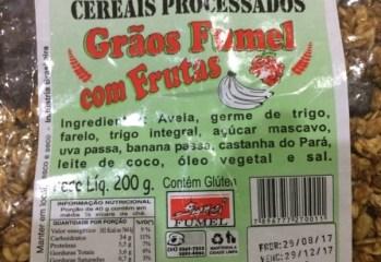 Cereais Processados Grãos com Frutas Fumel