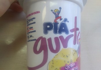 Iogurte Integral Grãos Milenares com Chia, Quinoa, Amaranto sabor Mel Gurt Piá