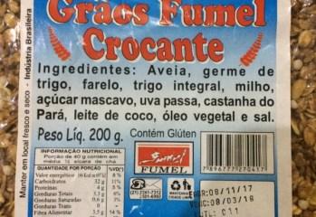 Cereais Processados Crocante Grãos Fumel