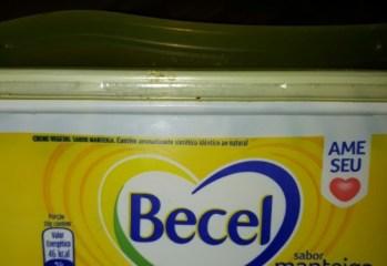 Creme Vegetal Sabor Manteiga Sem Sal Becel