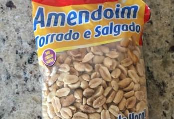 Amendoim Torrado e Salgado Da Colônia