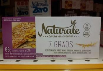 Barra de Cereal 7 Grãos Naturale