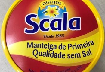 Manteiga de Primeira Qualidade Sem Sal Queijos Scala
