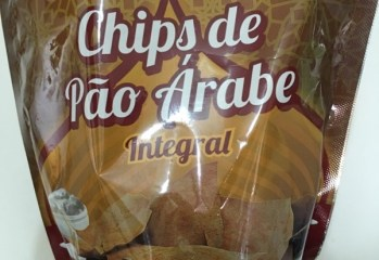Chips de Pão Árabe Integral Baalbek