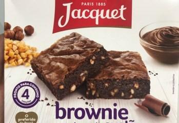 Brownie com Pedaços de Avelãs Jacquet
