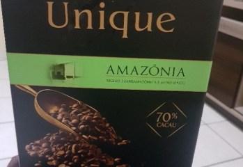 Chocolate Meio Amargo 70% Cacau Amazônia Unique Harald