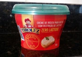Creme de Ricota Zero Lactose Tirolez