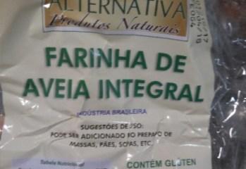 Farinha de Aveia Integral Alternativa Produtos Naturais