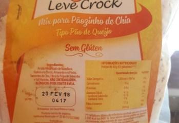Mix para Pãozinho de Chia Tipo Pão de Queijo Leve Crock