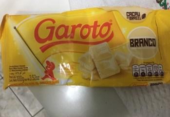 Chocolate Branco Garoto