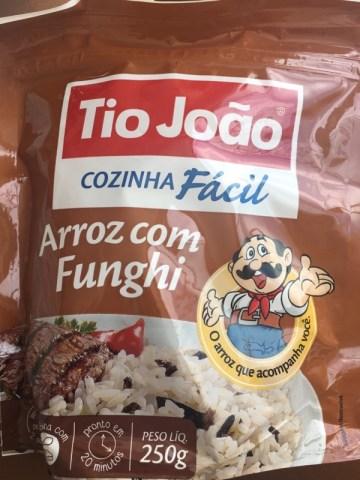 Arroz com Funghi Tio João
