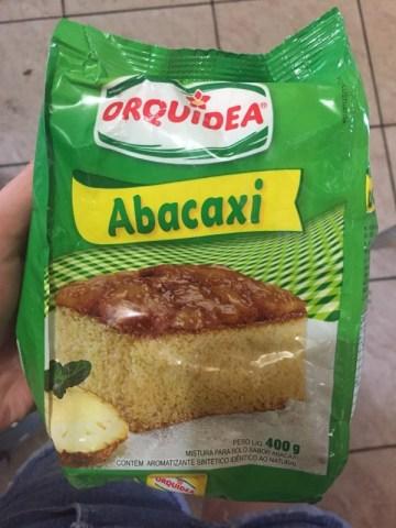 Mistura para Bolo sabor Abacaxi Orquídea