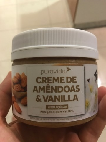 Creme de Amêndoas & Vanilla Zero Puravida