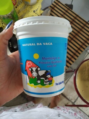 Manteiga de Primeira Qualidade Com Sal Natural da Vaca
