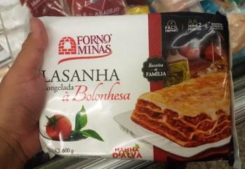 Lasanha à Bolonhesa Forno de Minas