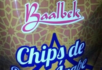 Chips de Pão Árabe Tradicional Baalbek