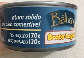 Atum Sólido em Óleo Comestível Báltico Broto Legal