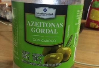 Azeitonas Gordal Com Caroço Em Conserva Member's Mark