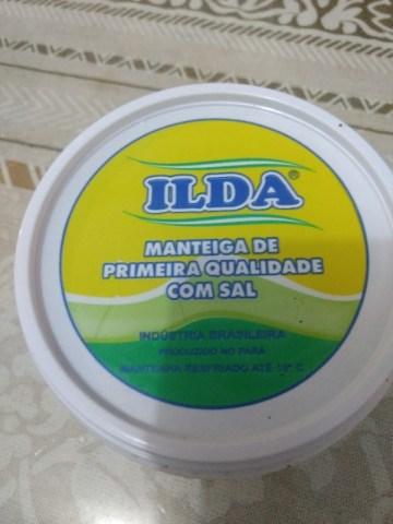Manteiga de Primeira Qualidade Com Sal Ilda