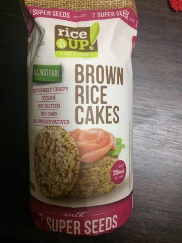 Brown Rice Cakes With 7 Super Seeds Rice Up