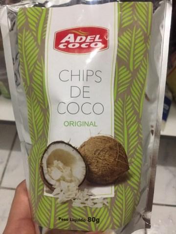 Chips de Coco Original Adel Coco