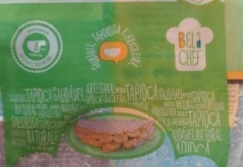 Goma Hidratada e Peneirada de Mandioca para Tapioca Bela Chef