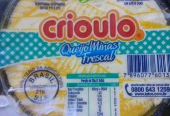 Queijo Minas Frescal Crioulo