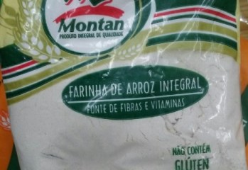 Farinha de Arroz Integral Montan