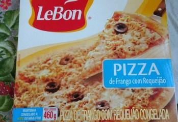 Pizza de Frango com Requeijão Lebon