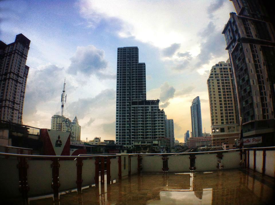 BTS Phayathai bangkok city
