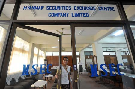 MYANMAR-JAPAN-SKOREA-ECONOMY-FINANCE-STOCKS