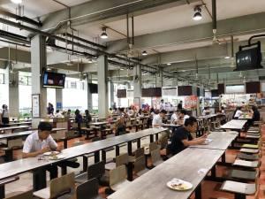 Bangkok university food court